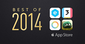 App Store's Best Apps of 2014