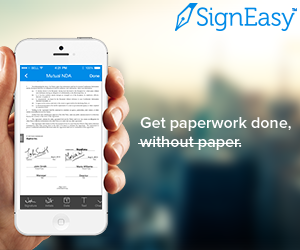 SignEasy — Electronic Signatures App for iPhone