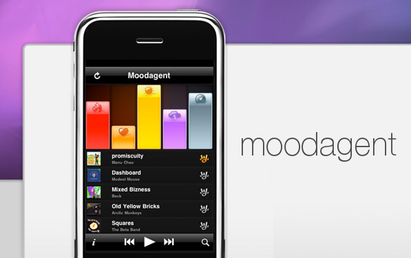 Moodagent – Beautiful playlists on the fly