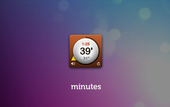 Minutes widget: Good things come in small packages