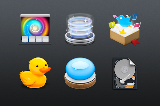 Some of the Icons by Na Wong
