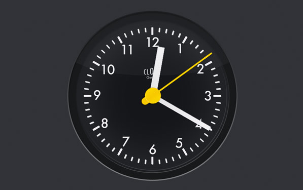 Post image for The iPad's missing clock