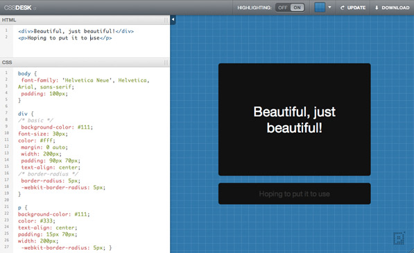 Post image for CSSDesk: Test Drive your Code