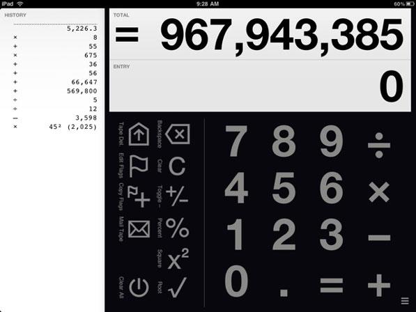 Digits Calculator for iPad – A Fresh Take on Mathematics