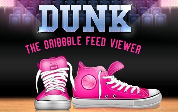 Now you don't even have to Dribbble before you Dunk