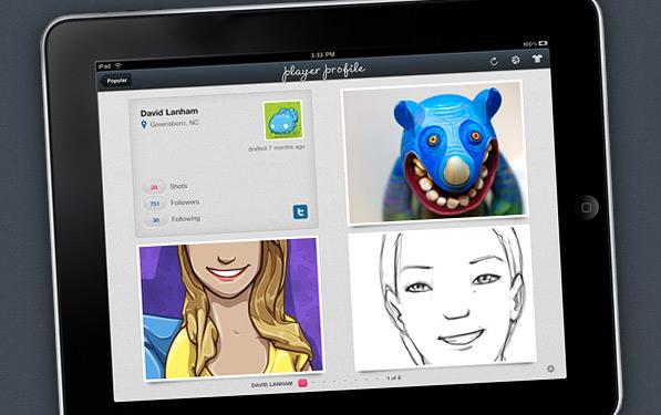 Dribbblr: Better Dribbble Browsing on the iPad