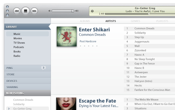 iTunes X: User Interface Concept