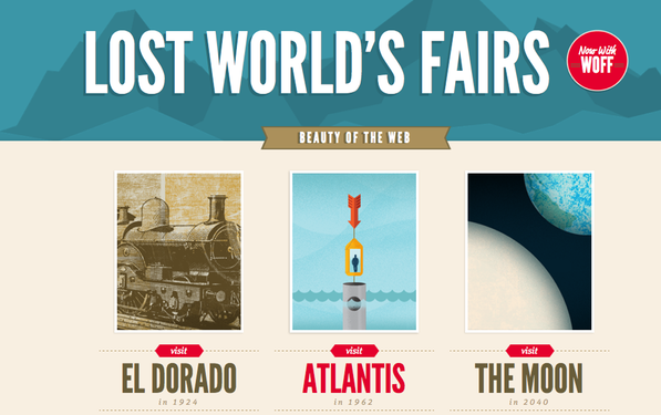 Lost World's Fairs – IE9 Beta as a source of inspiration?!