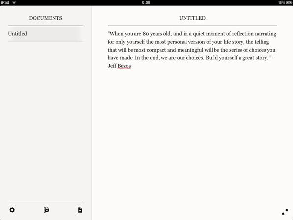 PlainText — Simple, Beautiful, Writing.