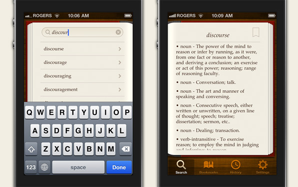 Discourse set to be a hot dictionary on the iPhone