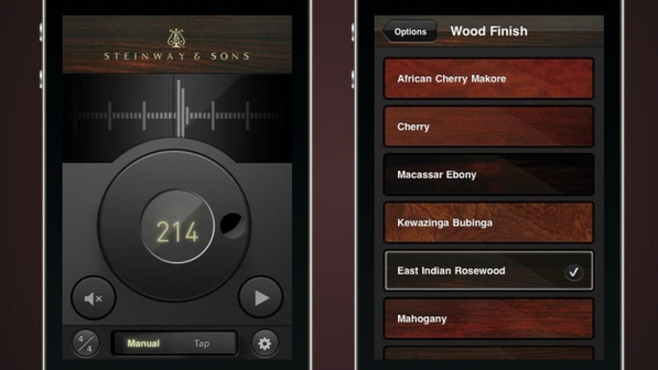 Steinway Metronome Beautiful Rhythm And Woods Beautiful