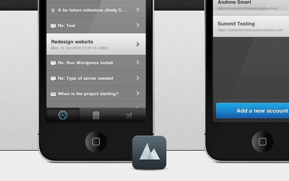 Summit: Slick and simple Basecamp on the iPhone
