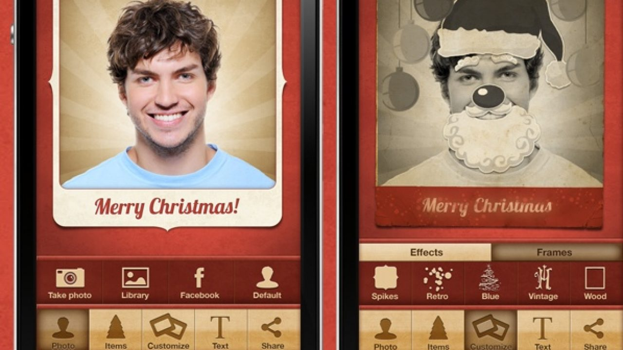 Digital Christmas Cards.Digital Christmas Cards Stunnified With Facecard