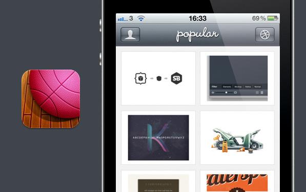 Swish: Dribbbleable dribbble app for iPhone