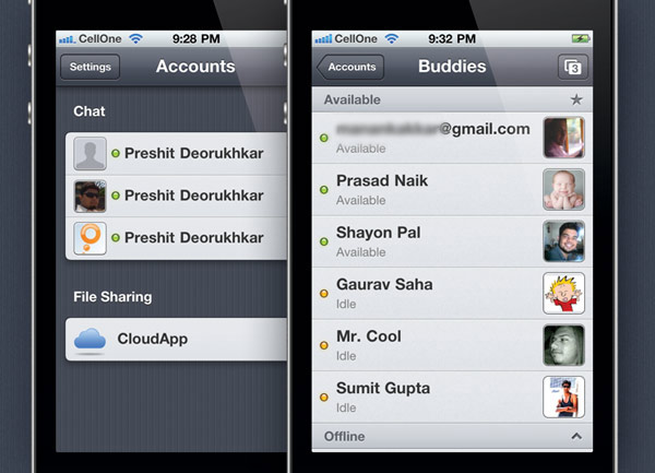 Verbs — Simple Instant Messaging with Cloud App integration