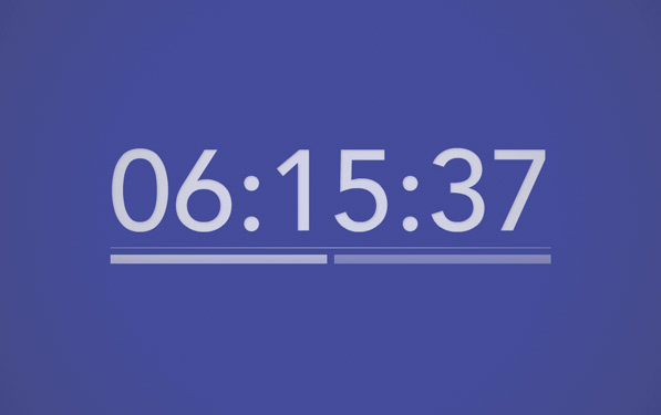 Post image for Colour Clock