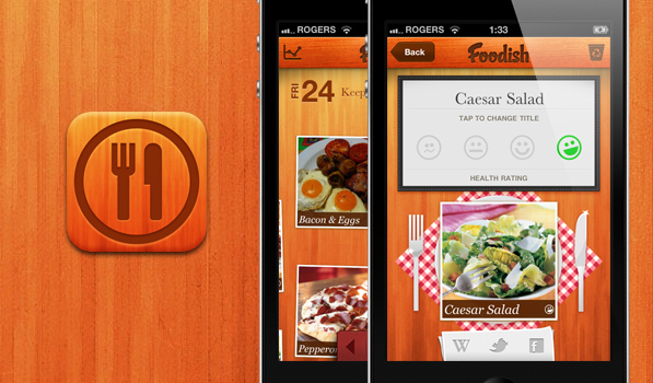 Foodish Serves Up An Appetizing Interface