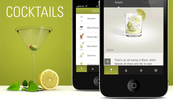 The Cocktail App — That Perfect Sip of Beautiful Pixels