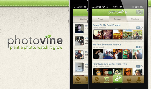 Photovine is Another Beautiful Photo Sharing App