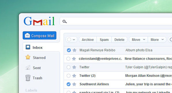 Gmail on Pokki