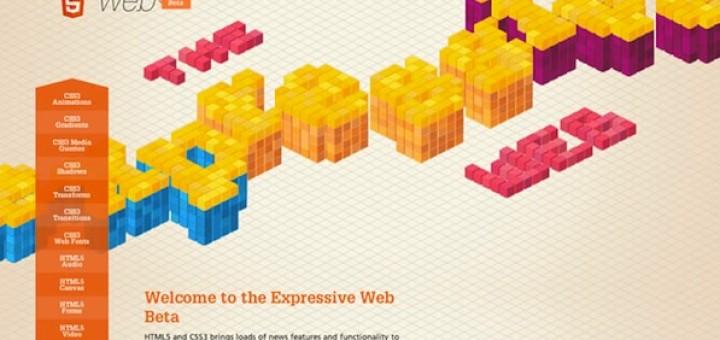 theexpressiveweb-masthead