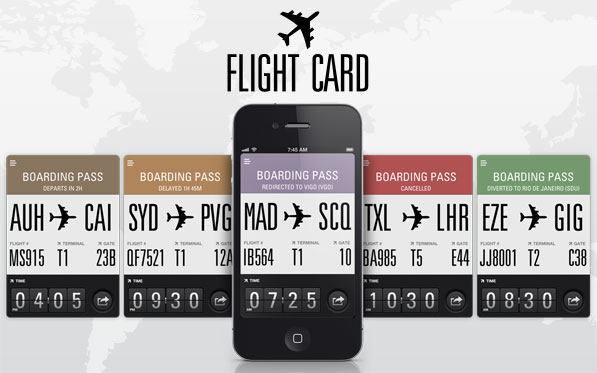 Flight Card Reinvents Your Boarding Pass