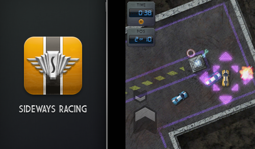 Sideways — Top-View Racing with Delicious Pixels