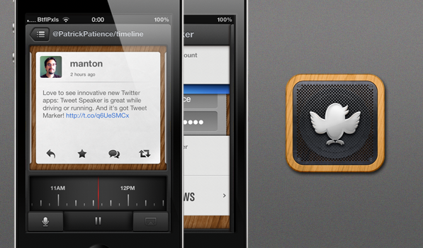 Tweet Speaker Is Your Tailored Twitter Podcast