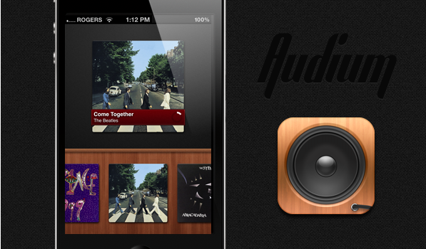 Audium is a Beautifully Simple, Gesture-Driven iPod Player