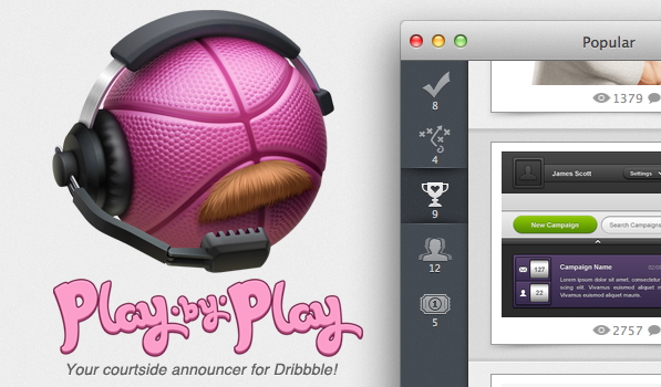 Play by Play App for Mac