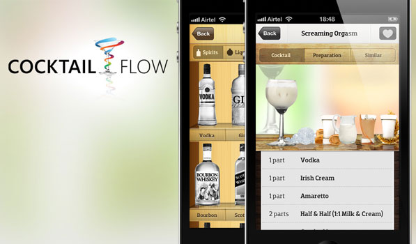 Cocktail Flow — Picking Your Drink Was Never This Beautiful
