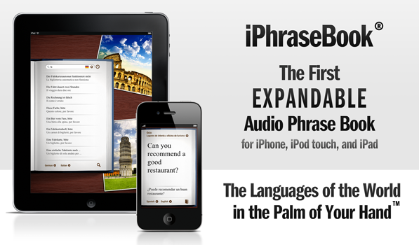 [Sponsor] iPhraseBook — The Expandable Audio Phrase Book