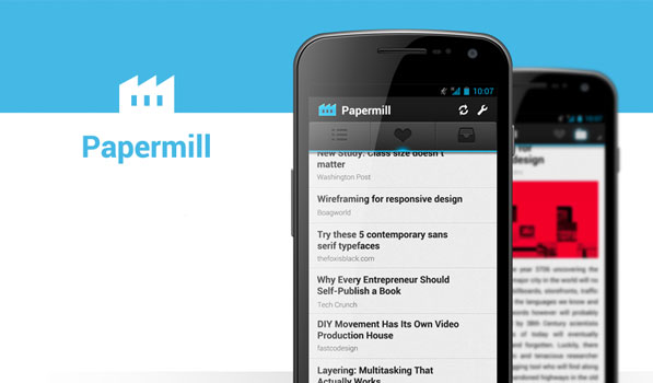 Papermill is the Instapaper Client for Android