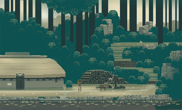 Immersive Pixel Art Goodness with Superbrothers: Sword & Sworcery EP
