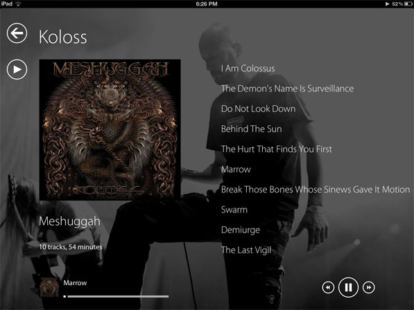 Go Metro on your Music with Track 8 for iPad