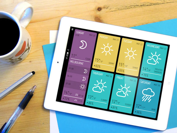 Post image for MINIMETEO – A Simply Beautiful Weather App for iPad