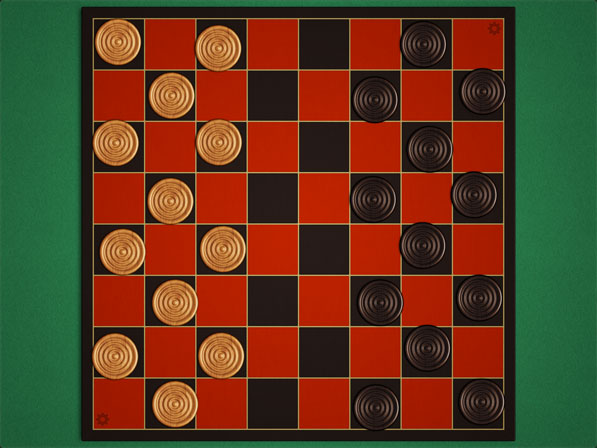 Checkers – 2 Players is a Gorgeous Box of Checkers for Your iPad