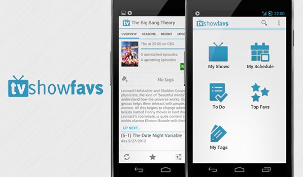 TV Show Favs is a Feature Packed Attractive TV Show Tracking App for Android