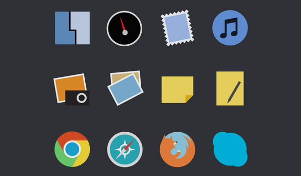 Post image for Minimal App Icons