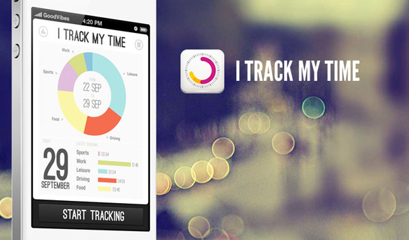 log visualize your daily activities with itrackmytime