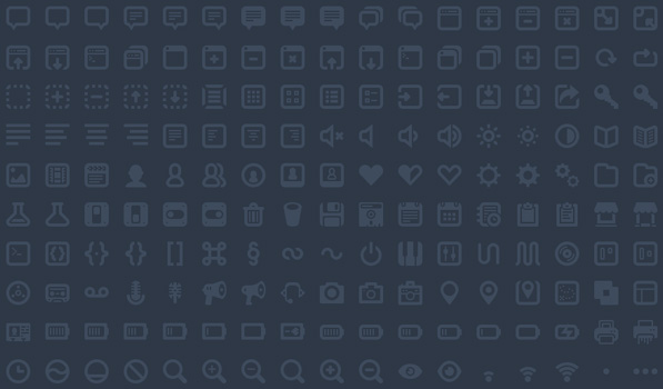 Batch — 300 Awesome Icons for Web and UI Design
