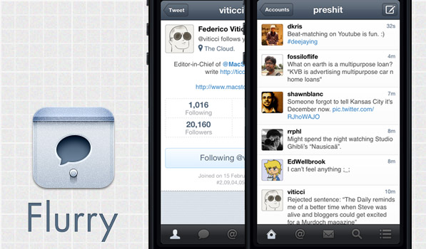 Flurry — A Simple Twitter App with an Elegant UI