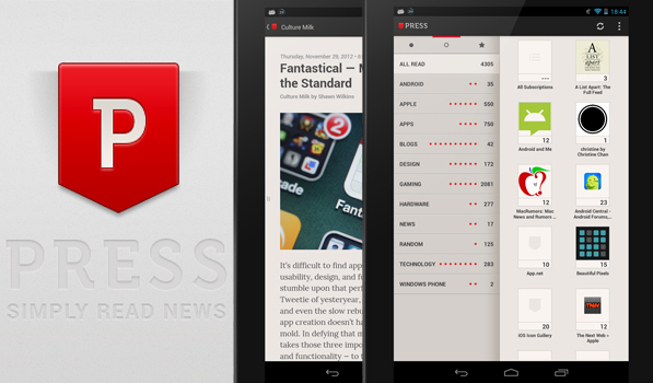 Press for Android is So Good That It Doesn't Need a Fancy Title