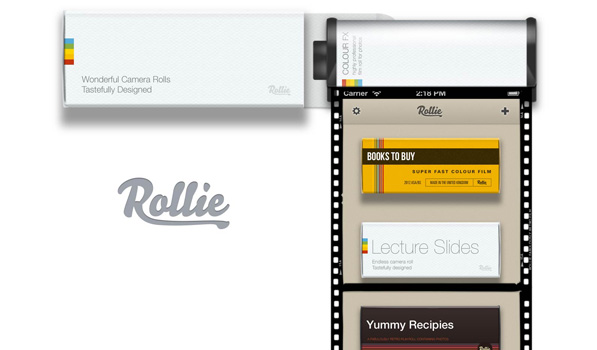 Rollie Brings Stunning Camera Rolls to your iPhone to House Your Photos