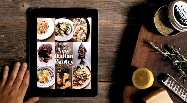 Sarah Jenkins' New Italian Pantry is a Deliciously Spontaneous Cooking App for iPad