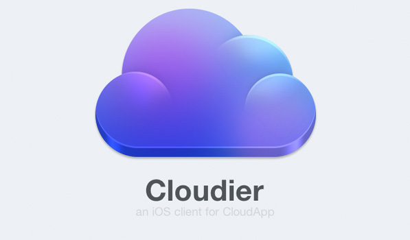 Cloudier is a Delightful CloudApp Client for iPhone