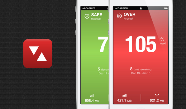 DataMan Next is a Simple and Good Looking Data Monitor for Your iPhone