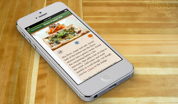 Filibaba Meals Brings Tasty Pixels to the iPhone