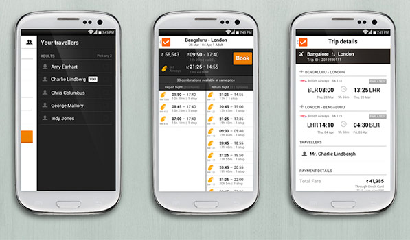 Cleartrip for Android Finally Offers a Modern Android Experience