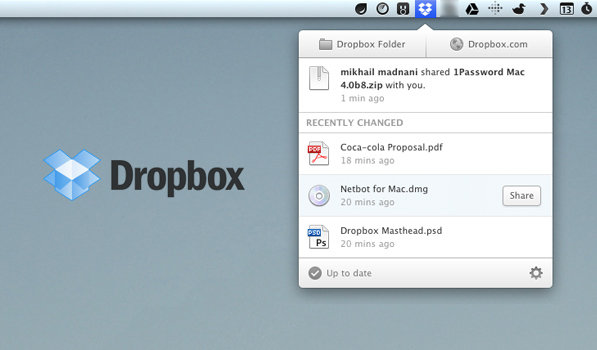 Dropbox Updates its Desktop Client with a New UI